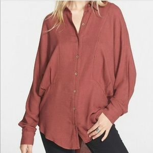Free People | True Affection earth Red Tunic